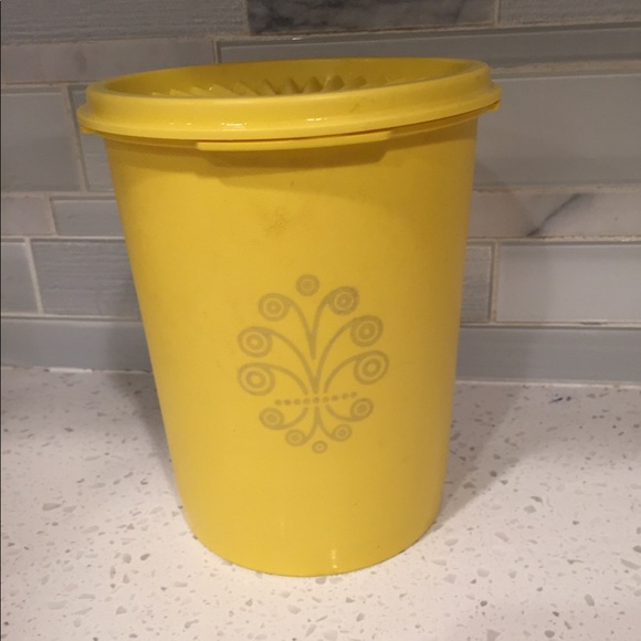 Tupperware Other - Vintage Sunshine Yellow Tupperware